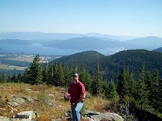 Schweitzer Mountain Resort Lodging: Overlooking Sandpoint area