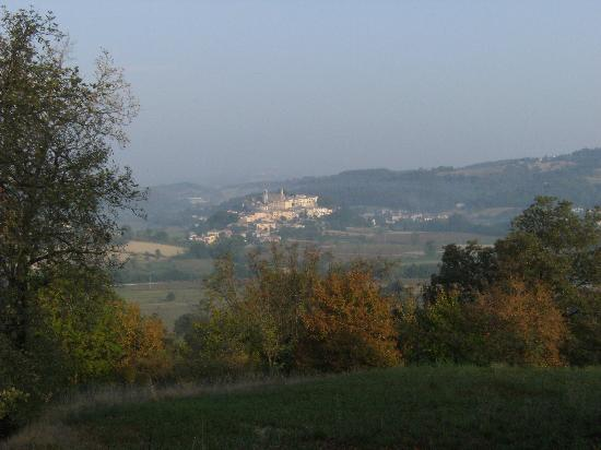 Agriturismo Montemiliano: The view from Montemiliano