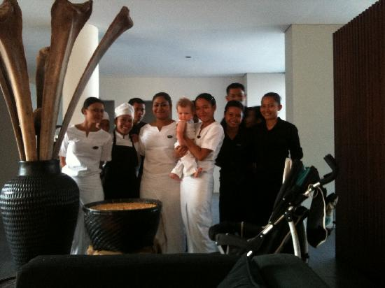 The Lombok Lodge: Staff Farewell to Ted