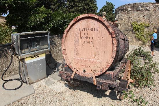 San Casciano in Val di Pesa, Italy: Wine