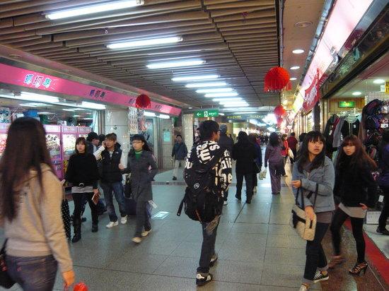 Datong, Taipei: 店がズラリと建ち並ぶ