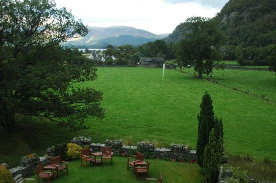 The Leathes Head: View from room 4