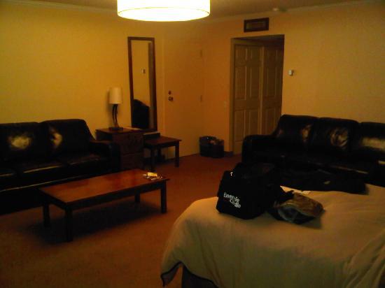 Hotel Château-Bromont: La chambre 116