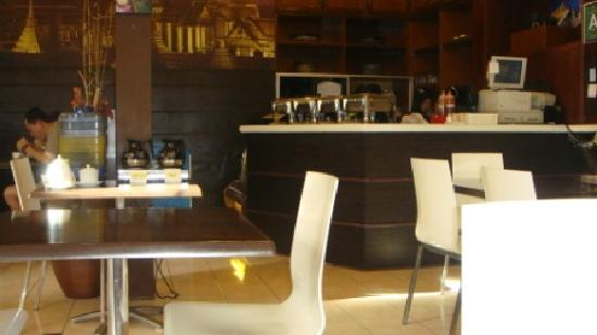 D' Beach Street Lodge : Dining area for breakfast