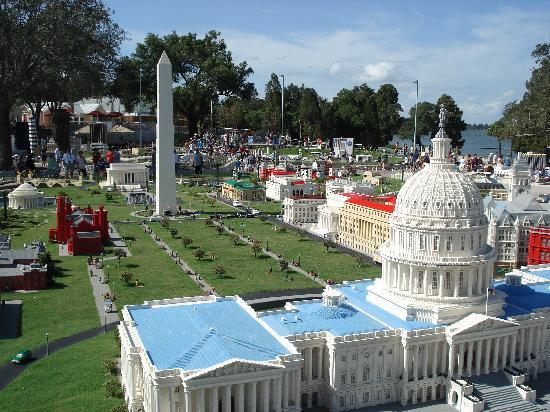 Legoland Florida Resort: Lego model of Washington DC