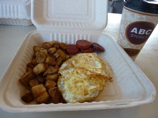 Honolua Store: My perfect breakfast!