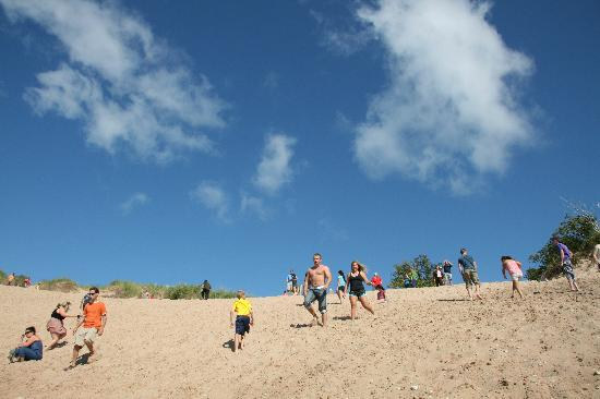 Platte River Campground: Sleeping Bear dune climb