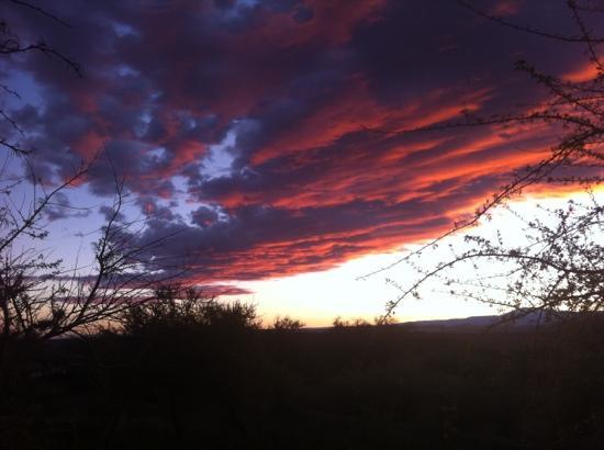 Atardecer en Rancho Quitapenas