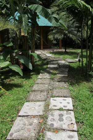 El Nido Cabinas: path to cabina