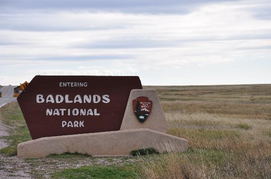Badlands Wall: Badlands National Park