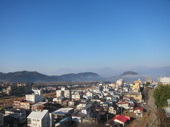 Ryokan Biyunoyado: View from our room