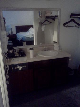 Best Western Corvallis: Hotel vanity