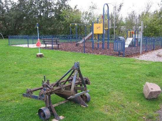 Foresterseat Caravan Park: Fun for all the family - Swings, shuts, football pitch, sand pit, swing ball
