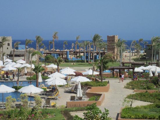 Port Ghalib Resort: vista del villaggio dalle camere Oasis