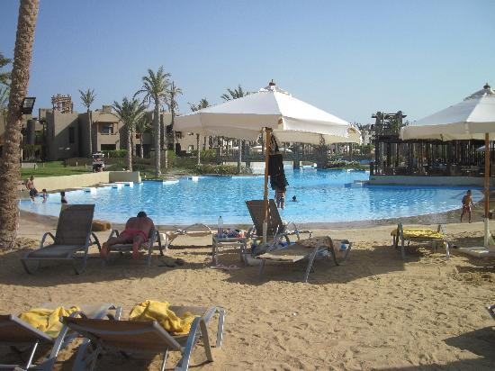 Port Ghalib Resort: laguna - piscina acqua salata !