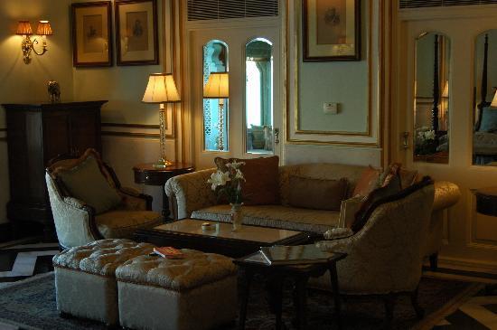 Taj Lake Palace Udaipur: salon