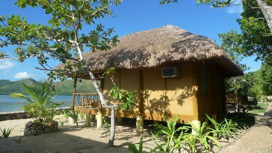 El Rio y Mar Resort : view of native cabana