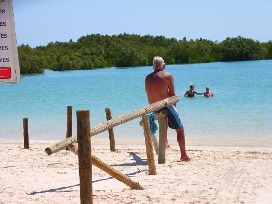 Port Smith Caravan Park: Lagoon at High Tide
