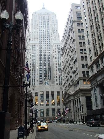 Chicago Board of Trade Building : La Salle Street