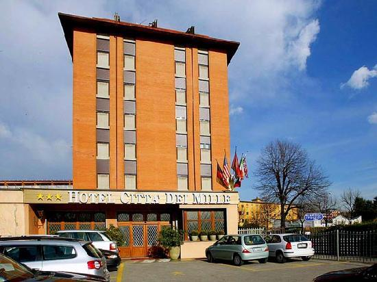 Hotel Citta dei Mille: outside