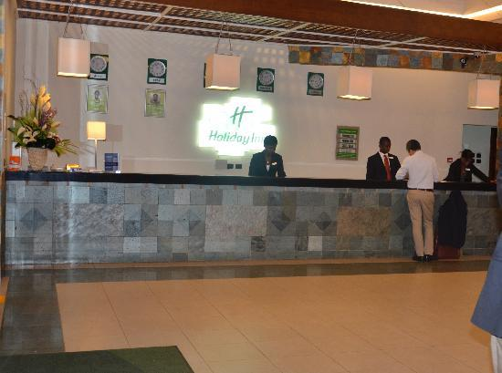 Holiday Inn Accra Airport: Hotel reception