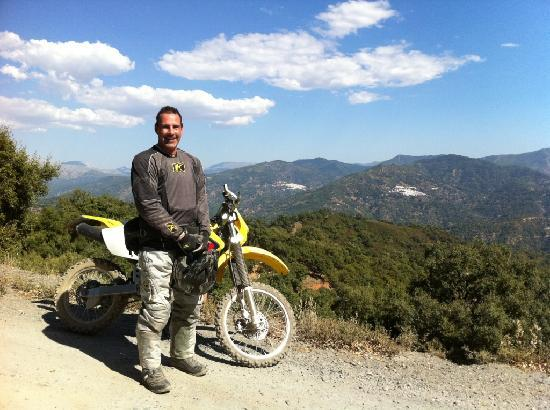 Riders of the Lost Trail - Guided Off Road Motorcycle Trail Tours: Feeling on top of the world - Riders of the Lost Trail