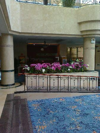 Dian Chi Hotel: Partial view of the lobby lounge
