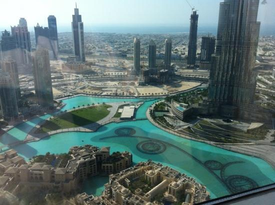 The Address Downtown Dubai: view