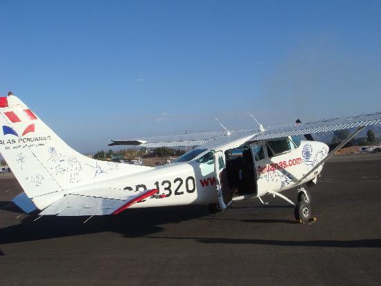 Nasca Lines: 小型飛行機