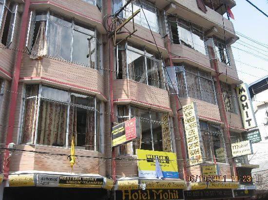 Hotel Mohit: Front view