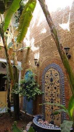Riad Habib: Private courtyard