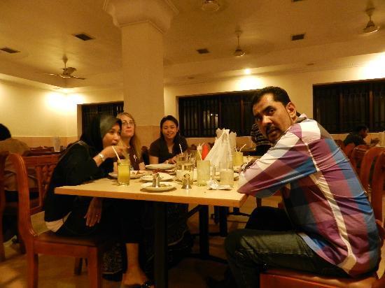 Kayees Rahmathullah Hotel Restaurant: inside the restaurant