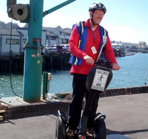 Electric Tour Company Segway Tours: On the Warf