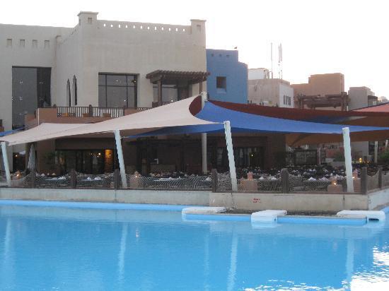 Port Ghalib Resort: ristorante visto dalla Lagoon