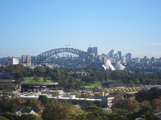 Holiday Inn Potts Point - Sydney: View from window