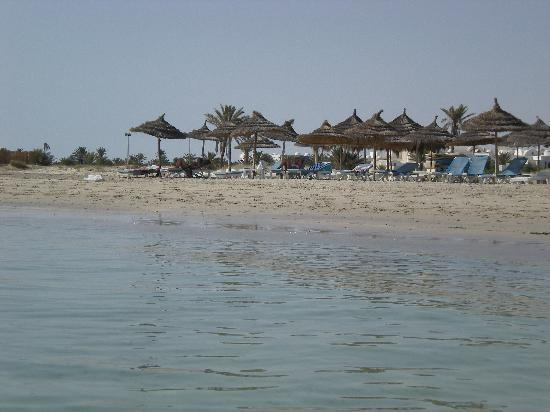 Yadis Djerba Golf Thalasso & Spa: Hotelstrand