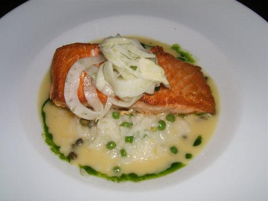 Cibo : Salmon Risotto
