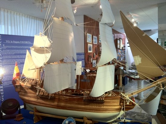 "Naval History Museum : Fragata a escala ""La Consentida"""