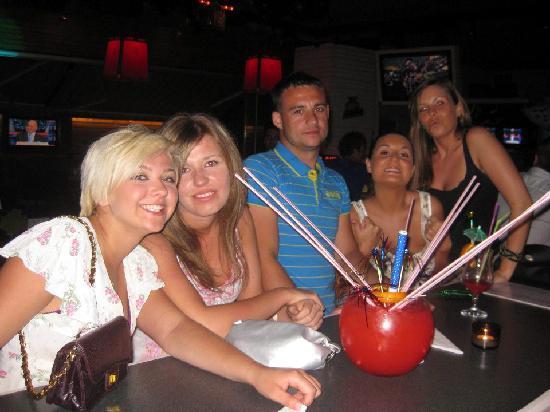 Vamos Beach: Friends made