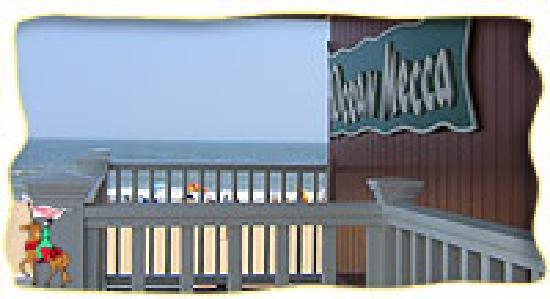 Ocean Mecca Motel : view from porch