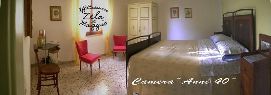 Affittacamere Zela di Maggio: camera anni '40