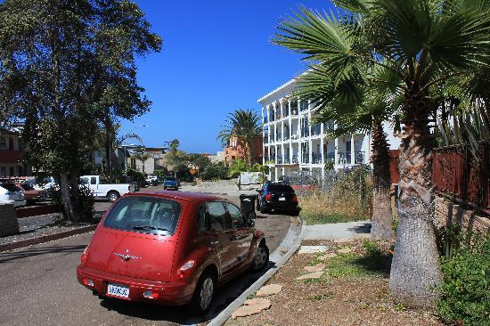 La Jolla Beach Travelodge: Playa Del Norte Street