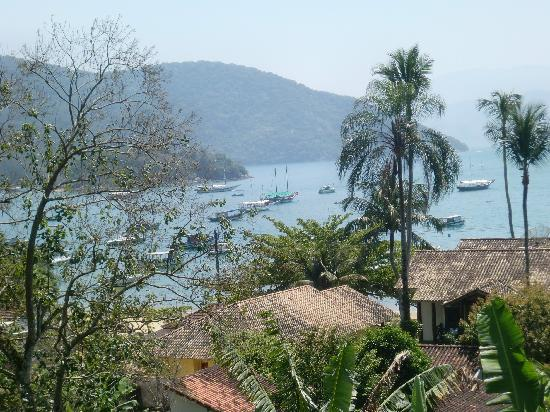 Pousada Tagomago Beach Lodge : Blick 2 aus dem Zimmer