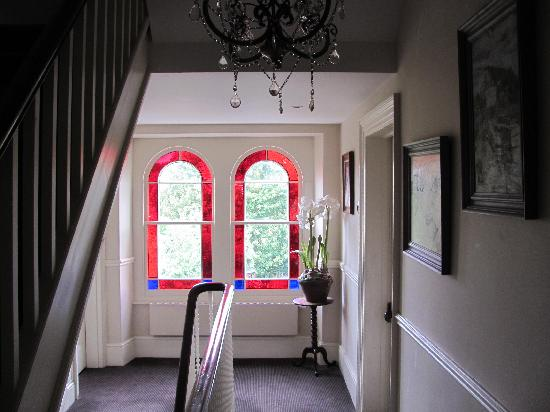 Stained glass in the Lorne House