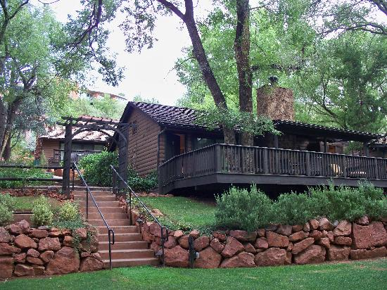 cabin picture of l 39 auberge de sedona sedona tripadvisor On cabins for rent in sedona
