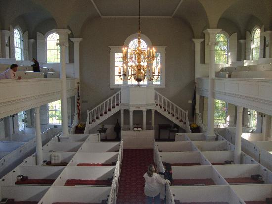 Old First Congregational Church: Church Interior