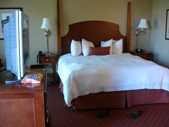 Hampton Inn & Suites Greenville - Downtown - Riverplace: Nice bed!