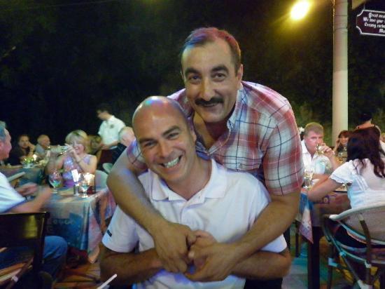 Toscana Ristorante Italiano: Me and Peter Sellers