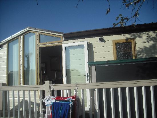 Seashore Holiday Park - Haven: outside of caravan
