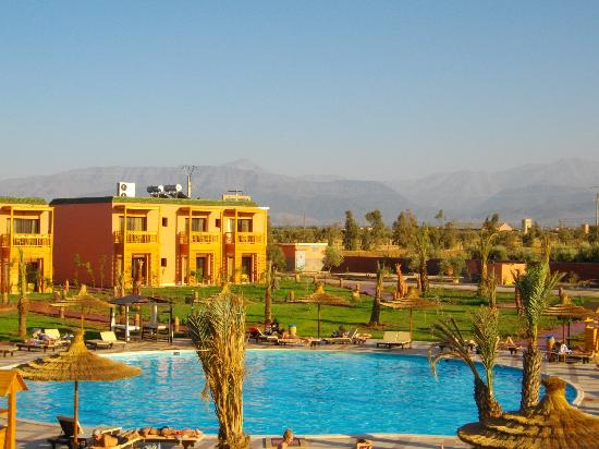 LABRANDA Aqua Fun Marrakech: The Atlas Mountains from our balcony